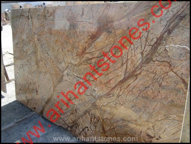 RAIN FOREST BROWN Dark Marble