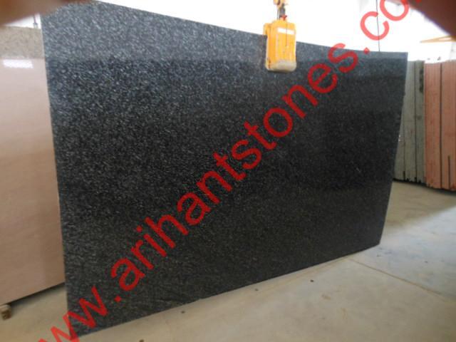 Black Marine Granite