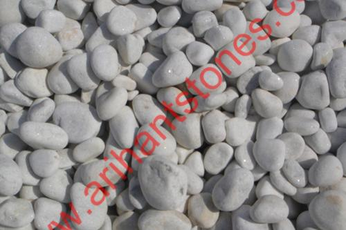 White-pebbles